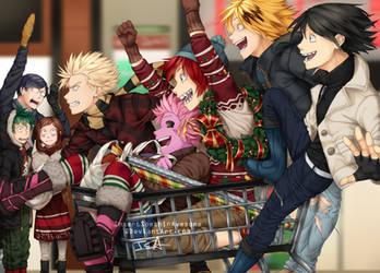 Shopping Rush by InsertSomthinAwesome