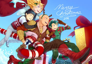 Merry Christmas 2018 by InsertSomthinAwesome