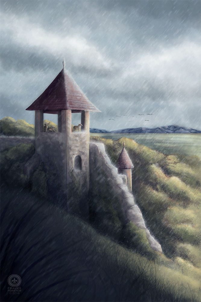 Abandoned tower by Thalathis