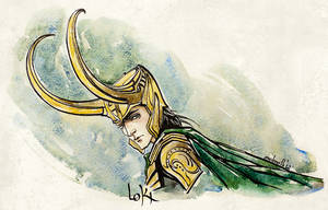 Loki by melmoth2014