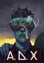 Cyberpunk Book Cover
