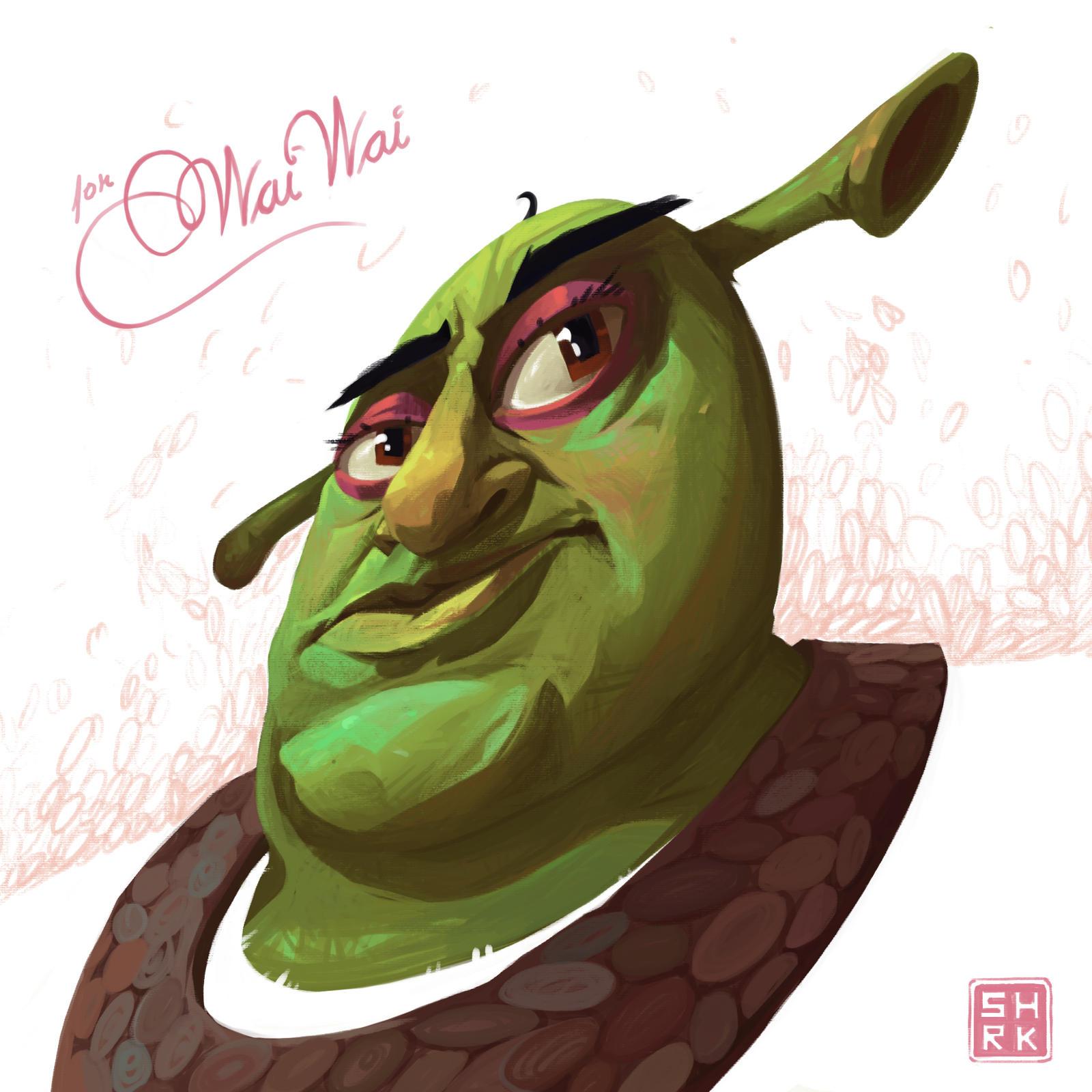 Shrek By Finnbarrmartin On Deviantart