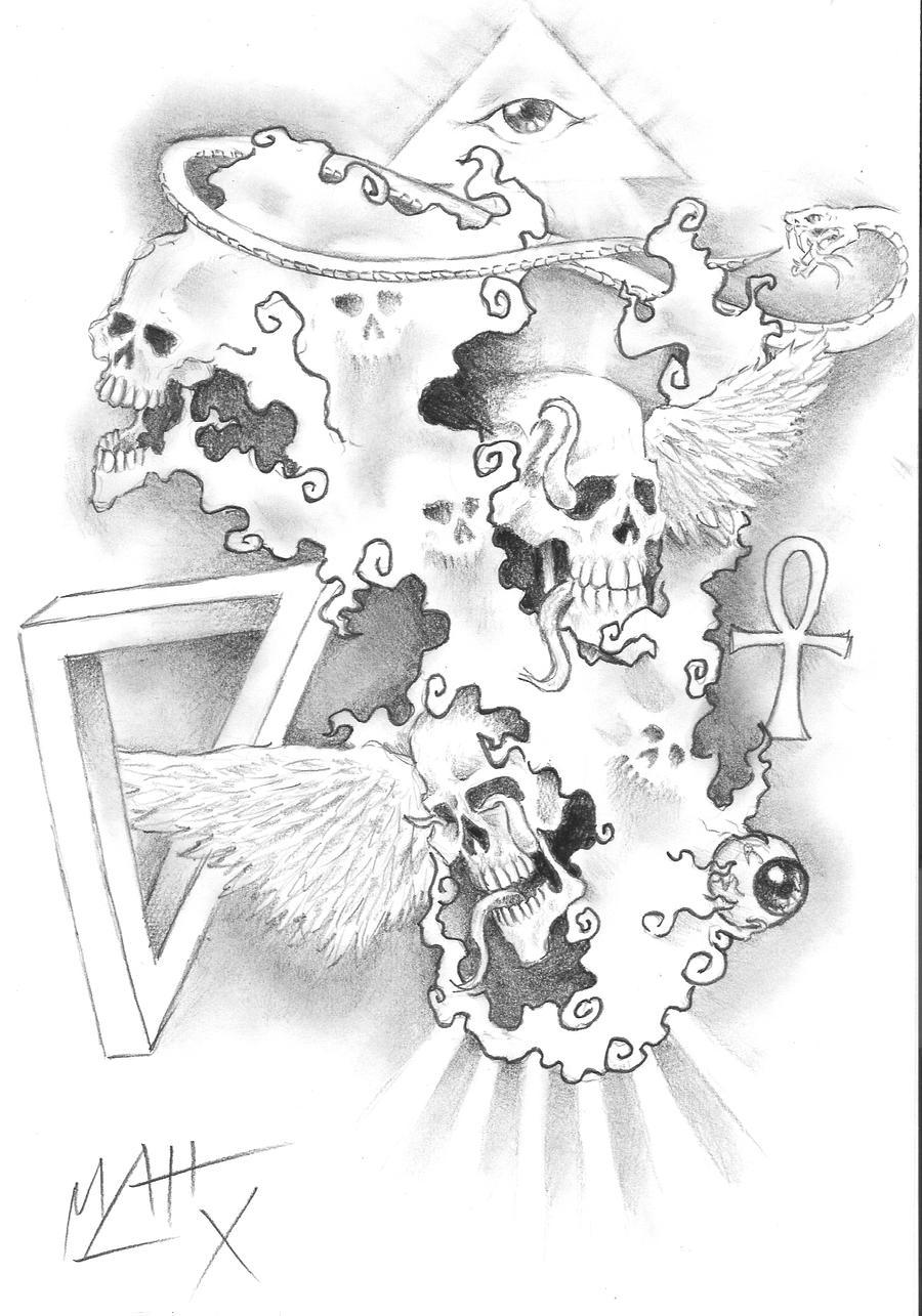 chaos tattoo by lepurple on deviantart. Black Bedroom Furniture Sets. Home Design Ideas
