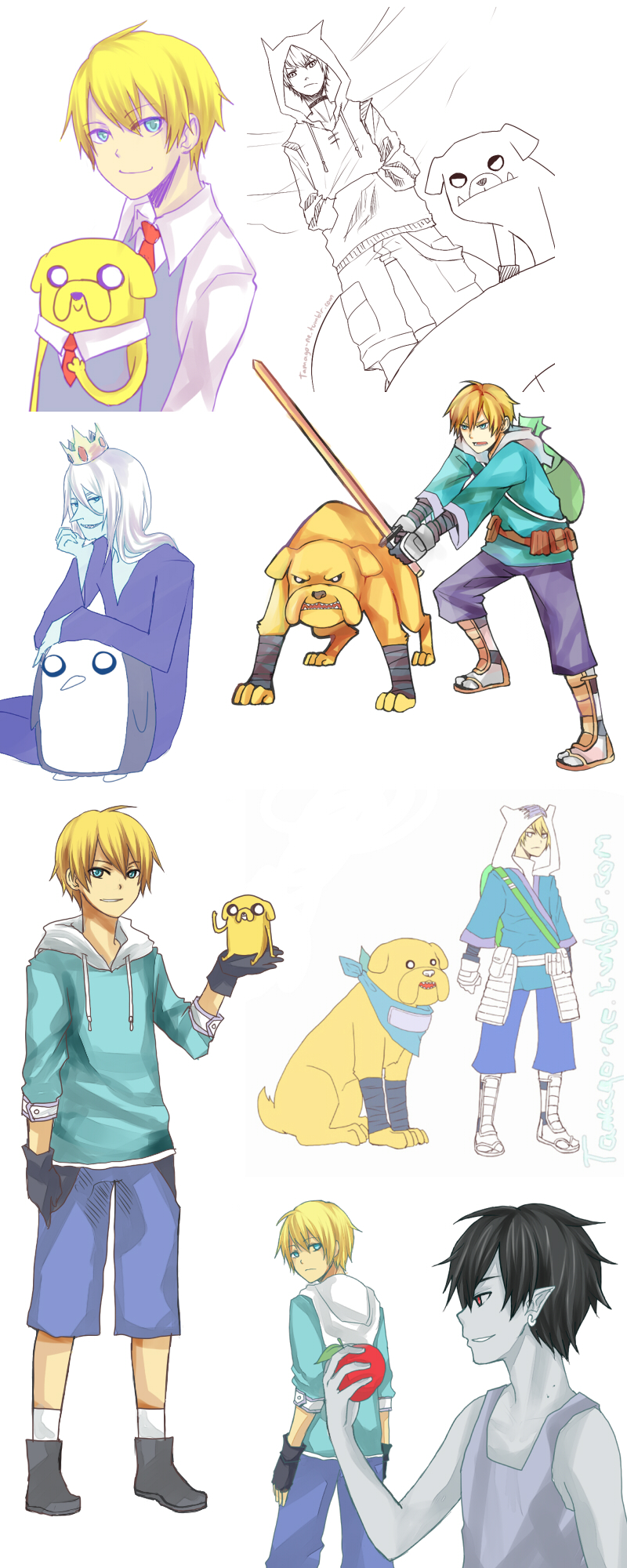 Adventure time SPAM. by tama-rai