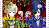 Alois and Ciel's Fans Stamp by annette-edelweiss
