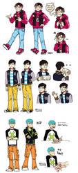 K-pop band: L(:D)L (LOL) by M-ALESG