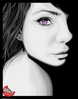 Eye by arsenics