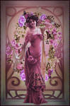 Mucha In the Pink