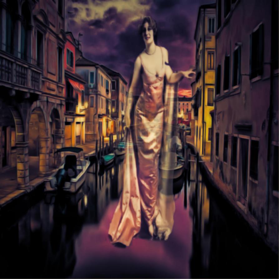 Canal Lady by lisamarimer