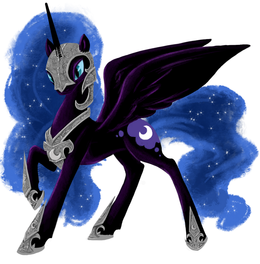 Nightmare Moon Concept by SilFoe