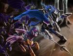 Incomplete In Defense of Equestria: Luna