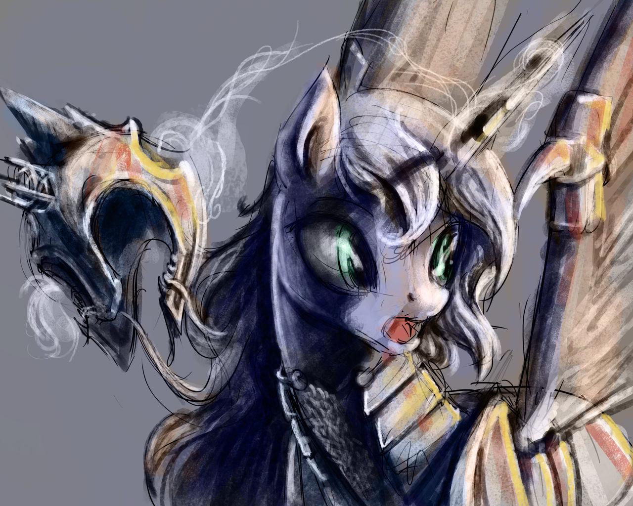 Surprised Luna Speed Painting