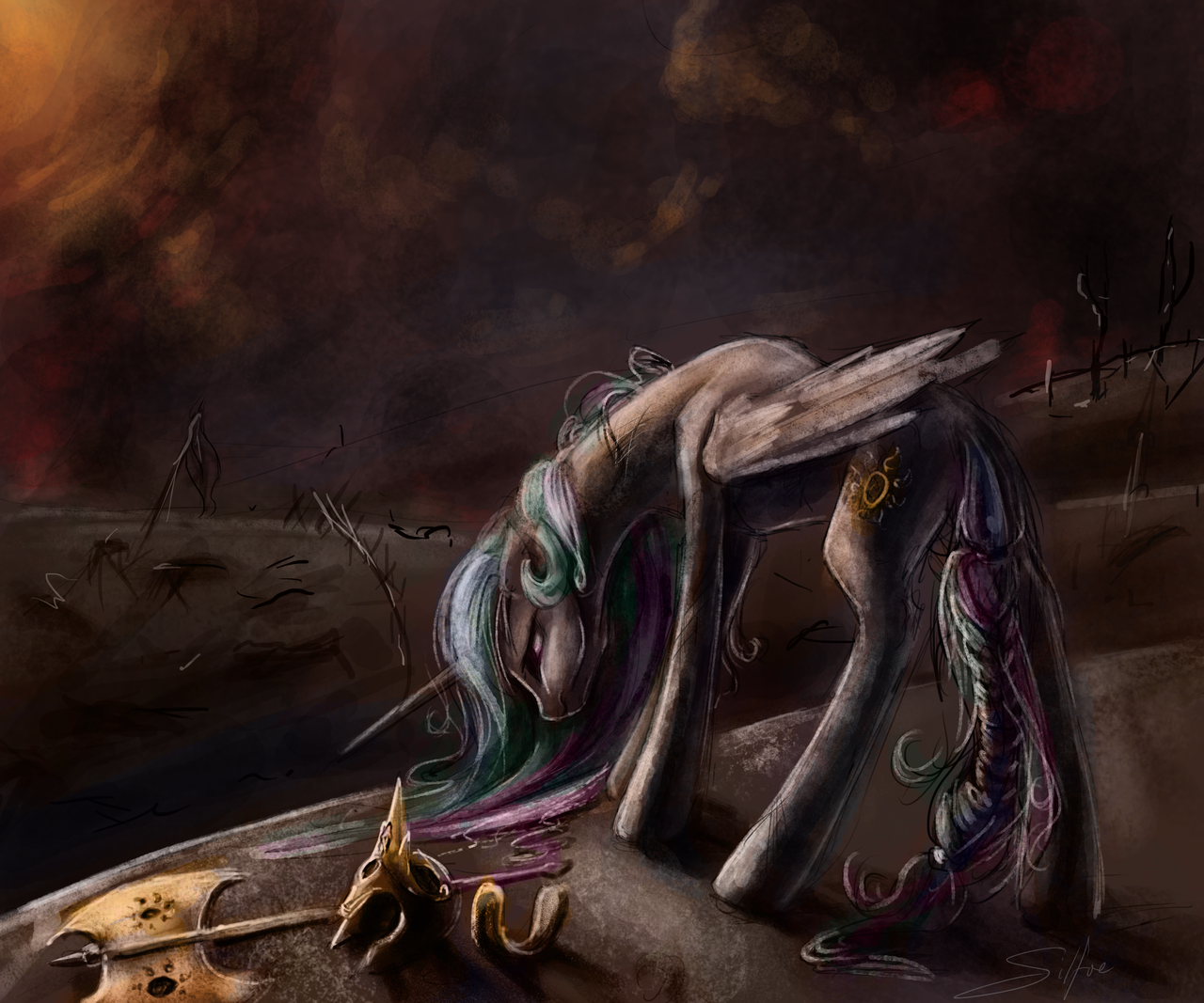 SpeedPaint: Aftermath by SilFoe