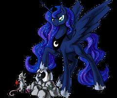 Luna N Tibbers by SilFoe