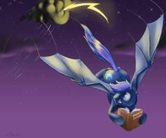 Commission: Weather Bat Pony by SilFoe