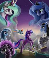 Commission: Rites of Ascension: Book Two by SilFoe