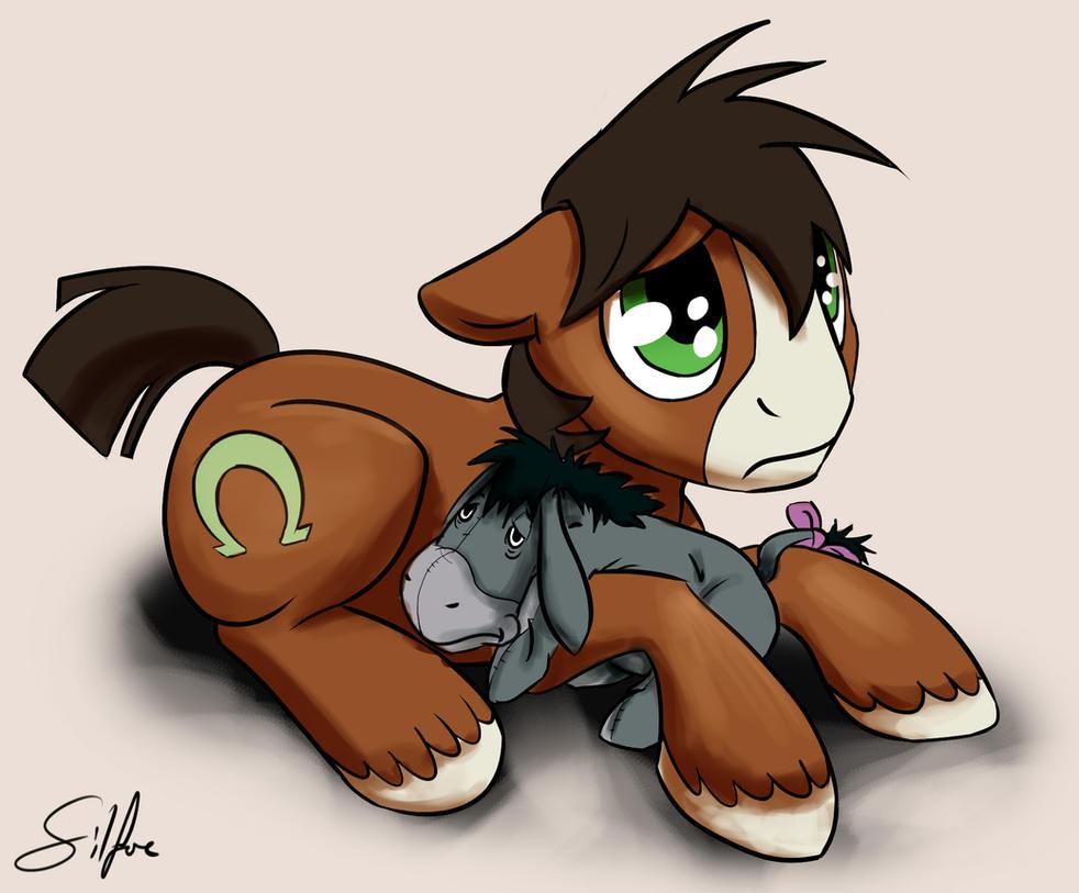 Morose Horse by SilFoe