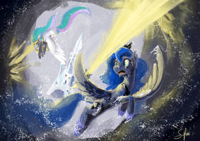 Episode Speedpaint Princesses Vs Clouds by SilFoe