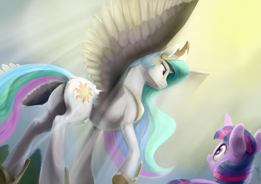 Pony art of the non diabetic variety.  - Page 26 Under_the_sun_s_wings_by_silfoe-d9yg7z6