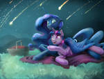 Commission: Meteor Shower