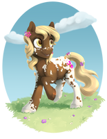 Commission: Goldenleaf by SilFoe