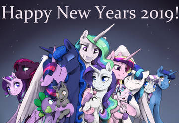 Happy New Years 2019 by SilFoe
