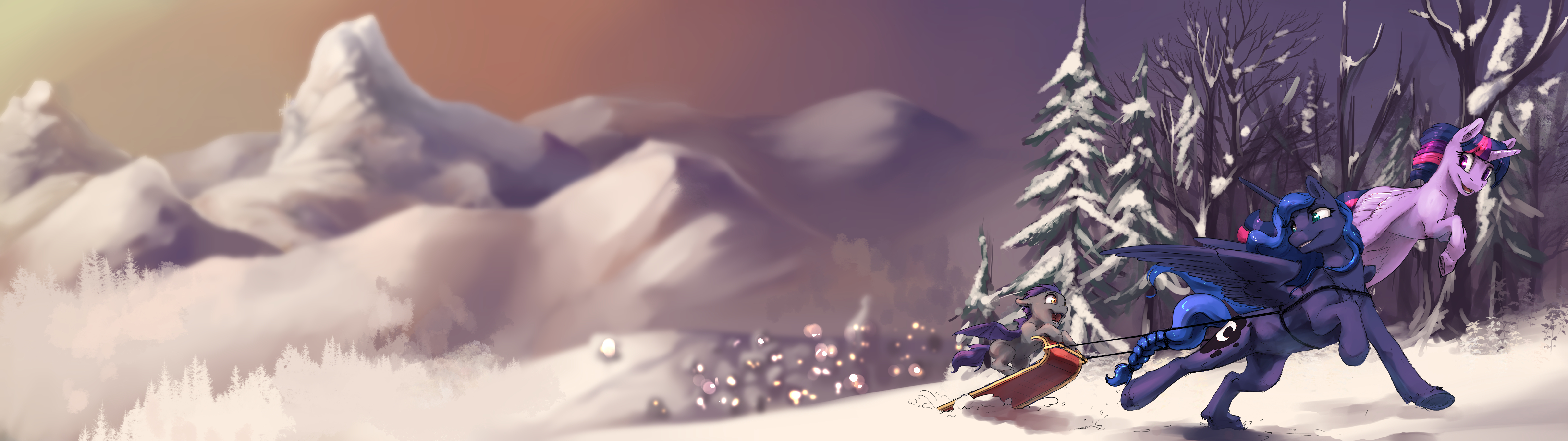 Commission: Winter Tuna by SilFoe