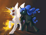 Commission: Evil Sisters