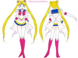 Super Sailor Moon by Mileyangel321