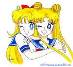 Usagi and Minako