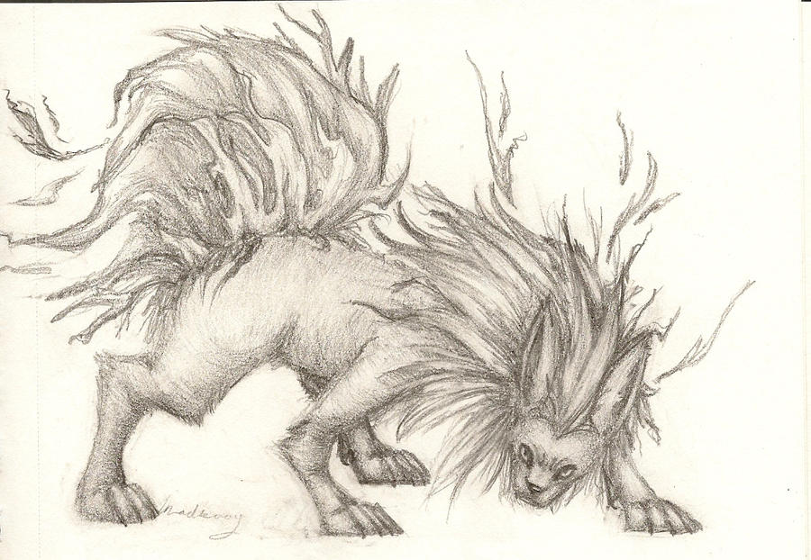 Flareon sketch by madkoog