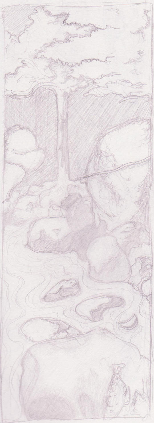 River Pencil by inkblot-101