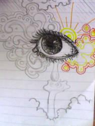Eye Doodle WIP by inkblot-101