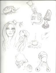Sketchdump by inkblot-101