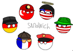 Even more countryballs. The third part