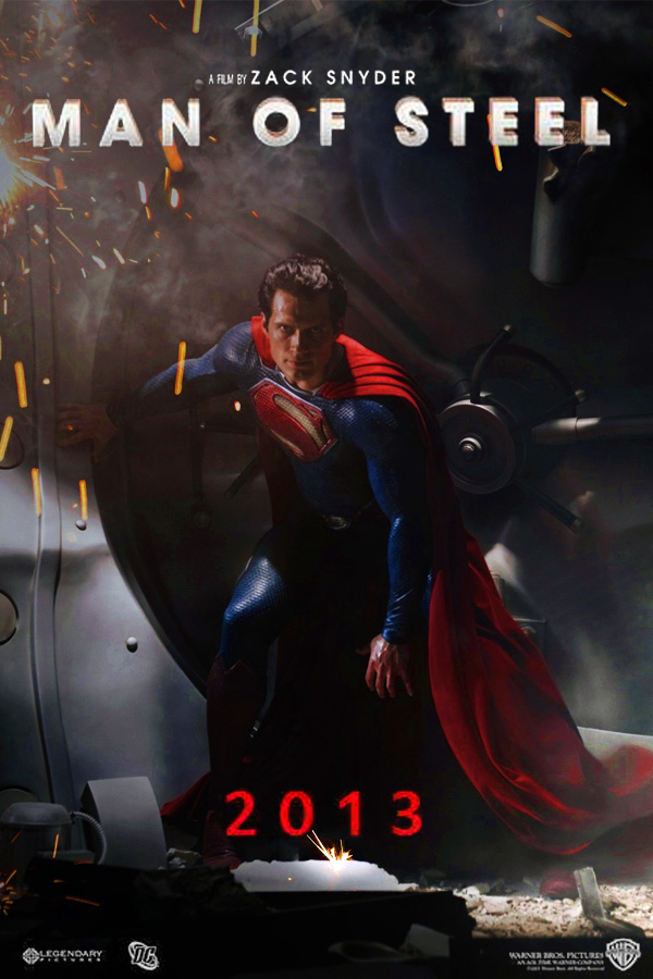 Man of Steel movie poster 2 by DComp on DeviantArt