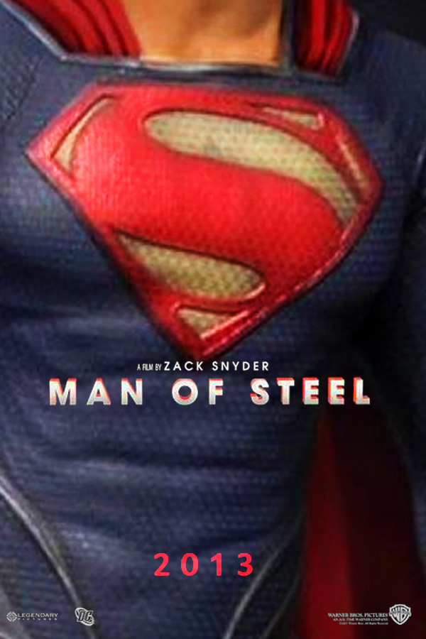 Man of Steel movie poster 3 by DComp on DeviantArt