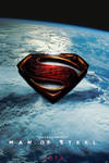 Man of Steel logo teaser poster