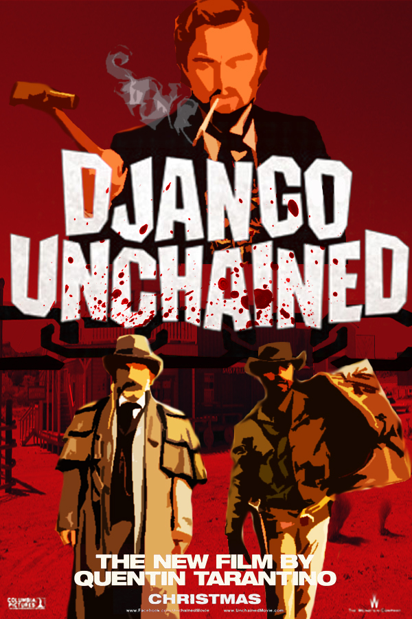 Django Unchained movie poster by DComp on DeviantArt