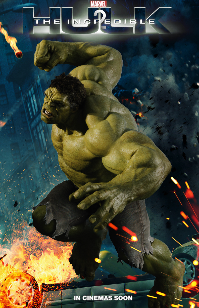The Incredible Hulk sequel movie poster by DComp on DeviantArt