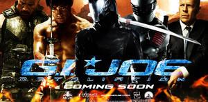 G.I. Joe Retaliation movie banner