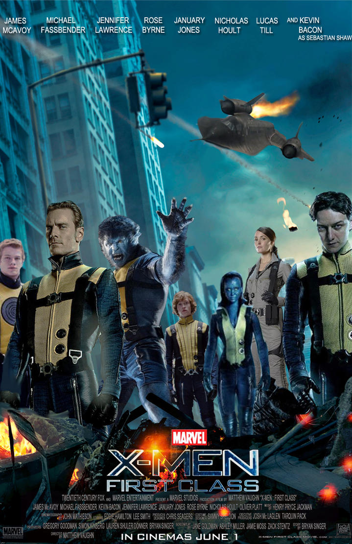 X-Men First Class/Avengers Poster Mash Up by DComp on ...