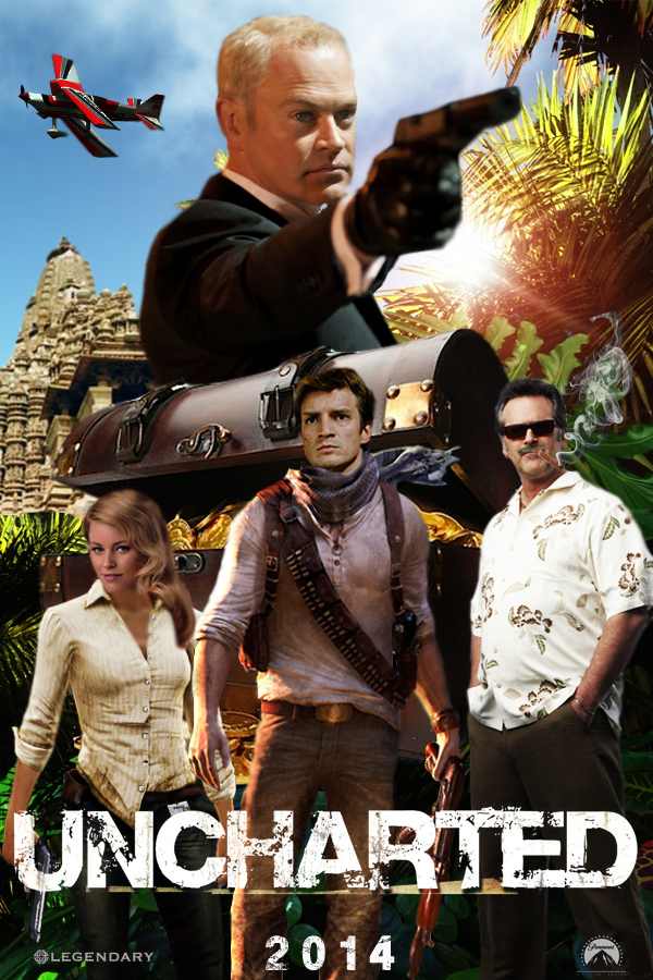 Uncharted Movie Poster By Dcomp On Deviantart