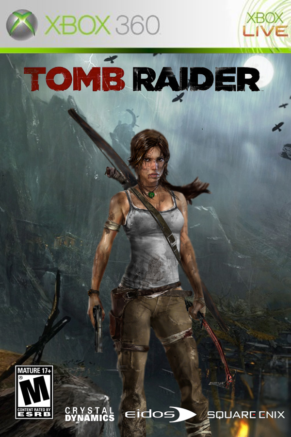 Tomb Raider (2013) Xbox 360 cover art by DComp on DeviantArt