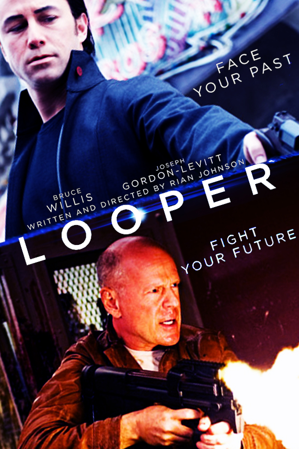 Looper 2012 Movie Poster By Dcomp On Deviantart
