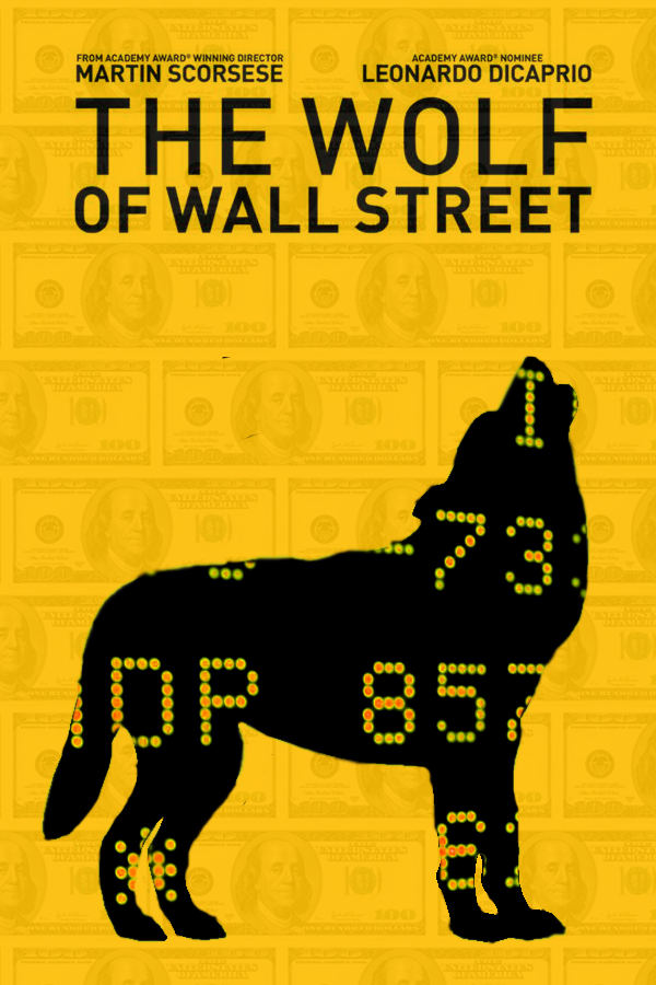 The Wolf of Wall Street minimalist poster by DComp on DeviantArt