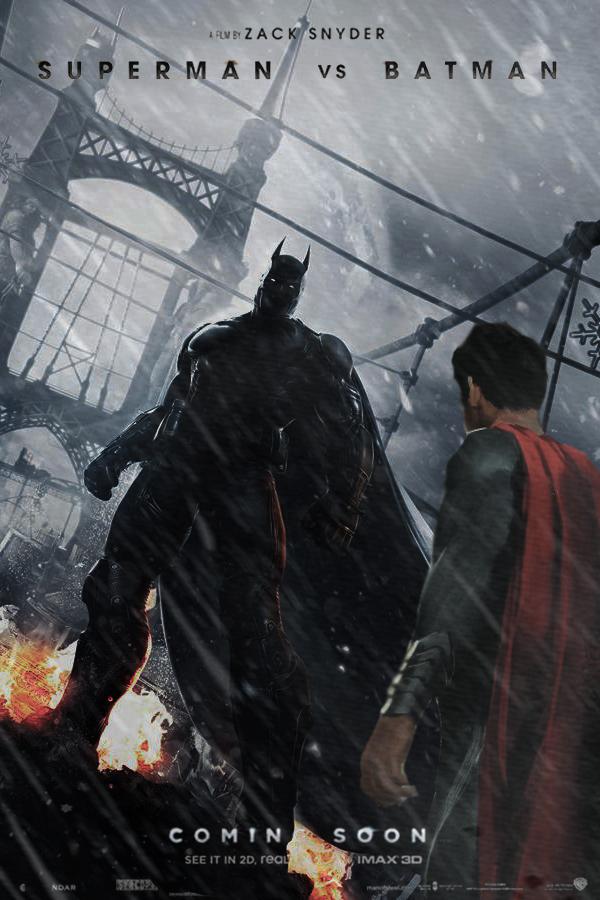 Superman vs Batman promo poster by DComp on DeviantArt