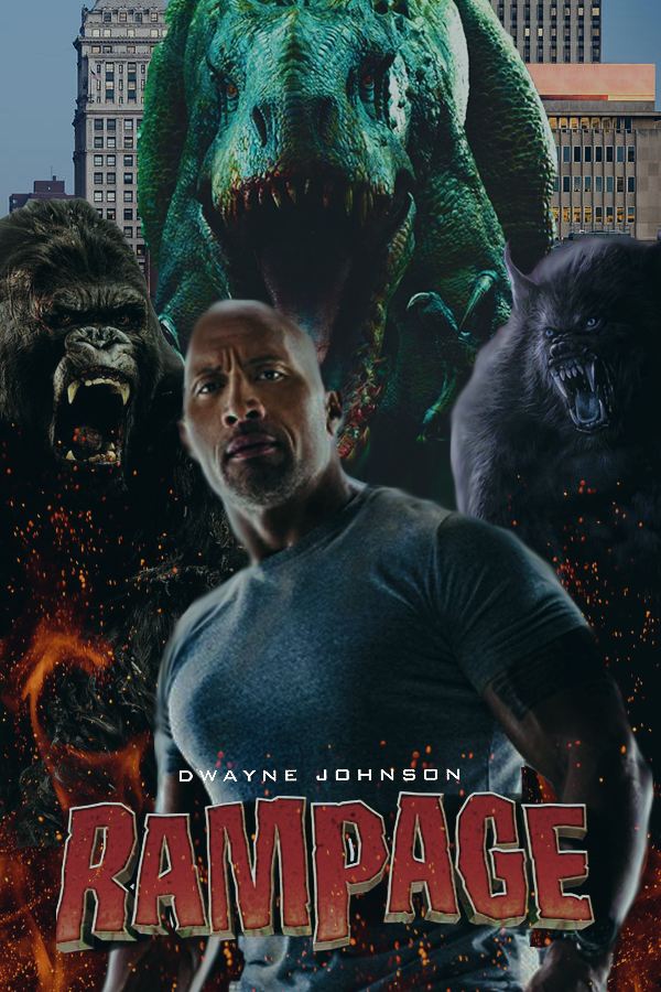 Rampage Movie Poster By Dcomp On Deviantart