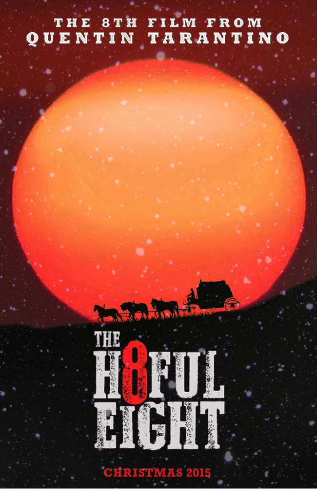 The Hateful Eight movie poster by DComp
