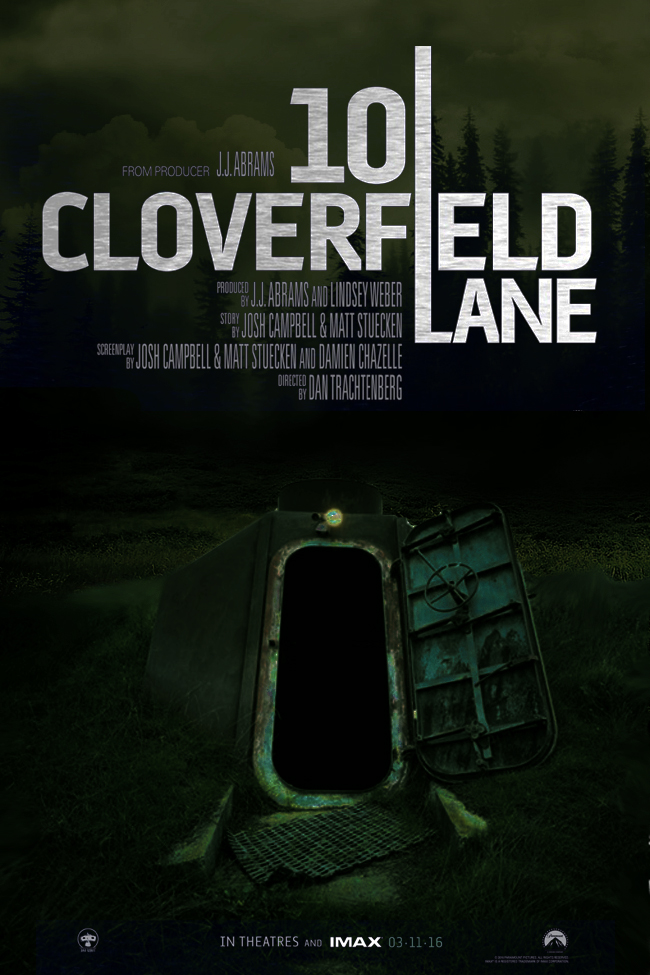 10 Cloverfield Lane teaser poster by DComp on DeviantArt